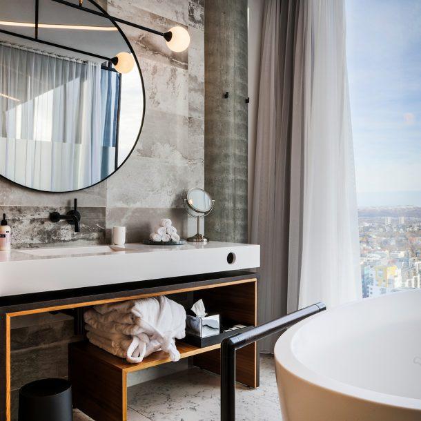 Skálafell Suite with Bathtub