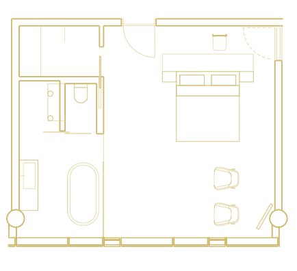 Hengill Suite layout