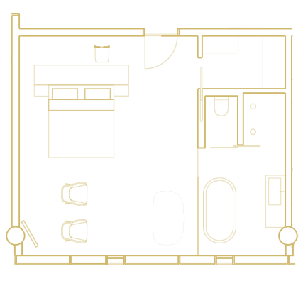 Vífilsfell Suite layout
